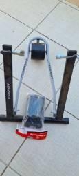 Rolo de treino com o suporte da roda dianteira de brinde