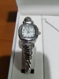 Relógio de pulso L & Co feminino ( novo na cx)
