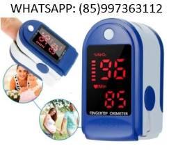 Oxímetro De Dedo ( NOVO ) Medidor De Oxigênio No Sangue Batimentos Cardíacos / Covid 19