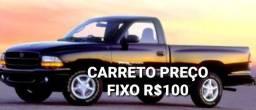 CARRETO E FRETE  PREÇO FIXO 100 REAIS