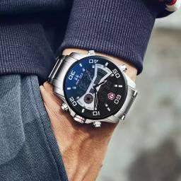 Título do anúncio: Relógio Kademan resistente a água 3bar