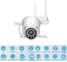 Câmera de segurança para uso em área externa e interna