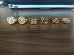 Título do anúncio: Aneis moeda antiga