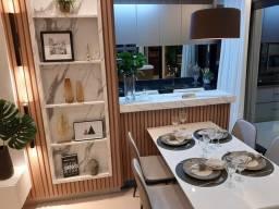 Título do anúncio: Apto Santa Mônica com 64 m2, 2/4 sendo 1 Suíte, Varanda Gourmet e 2 Vagas - Uberlândia - M