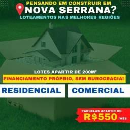 Título do anúncio: Lotes Nova Serrana - Financiamento Próprio