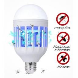 Lâmpada Luz Led 12 Watts Repelente Mata Mosquito Pernilongo