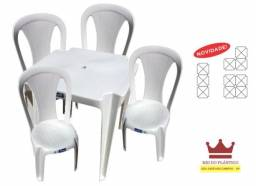 Conjunto Mesa e Cadeira Elisa - Inje4
