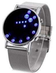 Relógio inteligente novo de metal raro