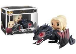 Funko Pop Daenerys & Drogon #15 - Game Of Thrones Origina