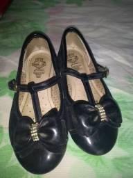Sapato luxo infantil numero 27