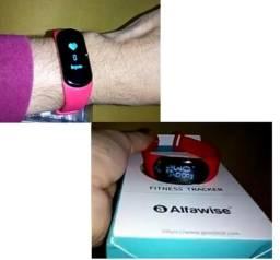 Bracelete Bluetooth Pulseira Medidor Cardíaco