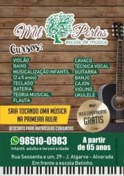 Escola de música Mil Portas - Jardim Algarve, Alvorada