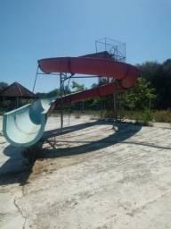 Toboágua Tobogã para piscina