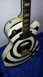 Troco guitarra gianinni anos 70 com caps gibson