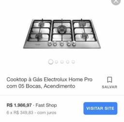Cooktop electrolux
