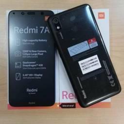 Xiaomi Redmi 7A 16G/32G novo na Caixa (LACRADO)