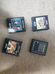 Lote de Jogos Atari