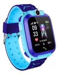 Elógio Smart Watch Kids Com Gps Lanterna Chat Direto Câmera