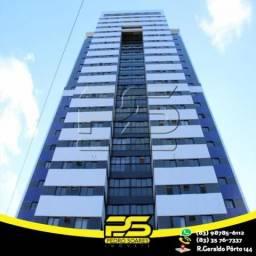 Apartamento com 1 dormitório à venda, 37 m² por R$ 190.000,00 - Miramar - João Pessoa/PB