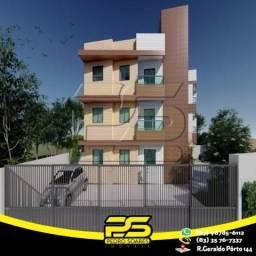 Apartamento com 2 dormitórios à venda, 47 m² por R$ 165.000 - Castelo Branco - João Pessoa