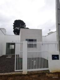 Belo imóvel geminado novo em rua calçada com 50 m² em Penha