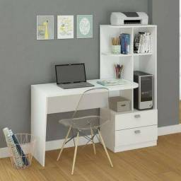 Elisa - mesa com prateleiras para computador