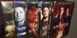 Box Supernatural (Sobrenatural) 1° a 5° temporada - dvd's Legendados