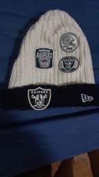 Touca New Era, NFL, Raiders, muito pouca usada, 9,5/10 por R$ 60