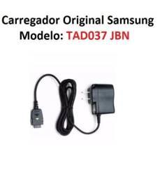 Carregador Aparelho Samsung Original Modelo Tad037 Jbn Bivolt 5,0v 700ma Impecável!