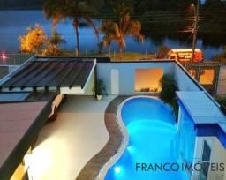 Cinematográfica casa duplex na Enseada Azul - Guarapari