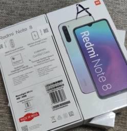 Redmi note 8 64 da Xiaomi. novo lacradão com entrega IMEDIATA pra vc