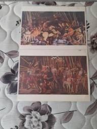 Título do anúncio: Coleção Telas Famosas de Paolo Uccello