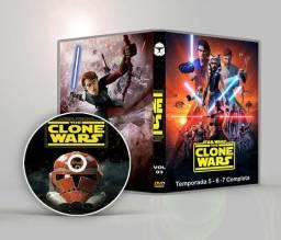Star wars guerra dos clones completo