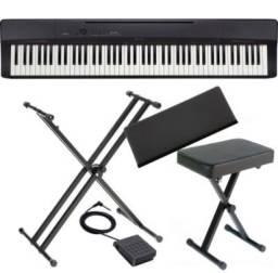 Piano Digital Cássio Privia Px 160+suporte+banqueta+ Capa