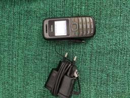Celular Nokia 1208 (não reconheceu chip) + carregador original