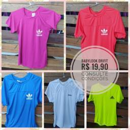 Camisetas Dry Fit - Diversas cores e marcas - Fazemos entrega