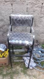 cadeira ferrante e cadeira infantil e lavatório portatil zero
