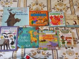 Lote de dez livros infantis