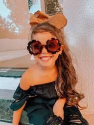 Óculos Flor infantil com proteção uv400 ATACADO