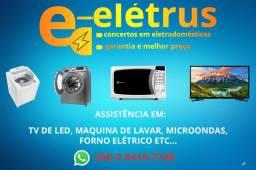 CONSERTOS DE MÁQUINAS DE LAVAR E TVS