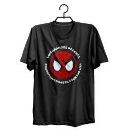 Camiseta Spider-Man Phrase Marvel