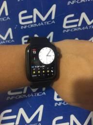 Apple Watch Series 5 44mm Preto - Seminovo -Loja Centro de Niterói