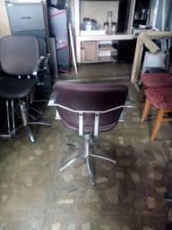 poltrona cadeira hidráulica para salão