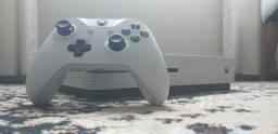 Xbox one s 1 tera branco + 3 jogos
