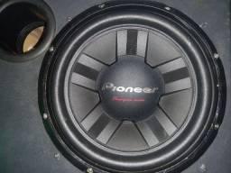 Pioneer cara preta 400 rms