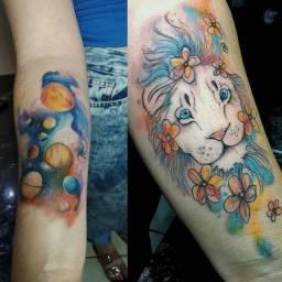 Tatuagem profissional