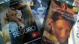 3 livros de Nicholas Sparks