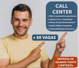 Call center presencial ou home office
