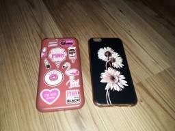 3 capinhas de iphone 6
