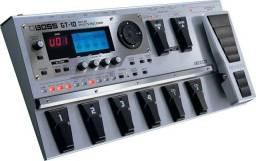 Pedaleira Boss GT-10 com Case